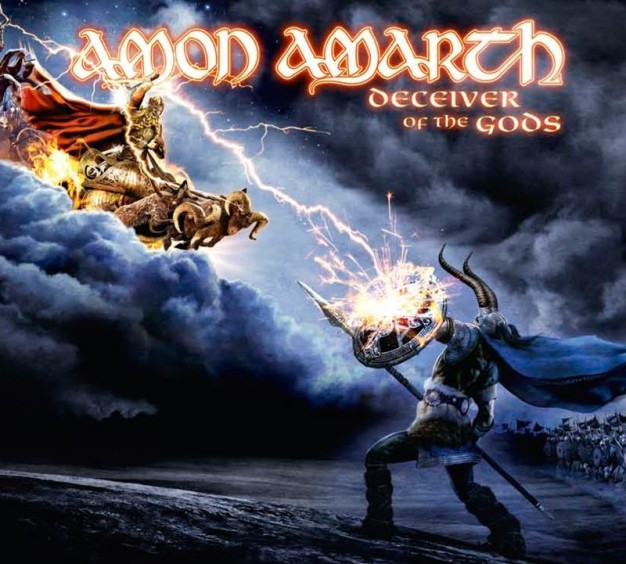 Amon Amarth Deceiver of the gods album cover