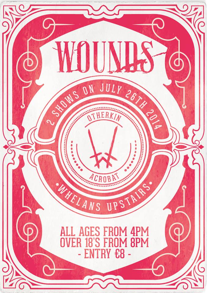 WOUNDS POSTER WHELANS