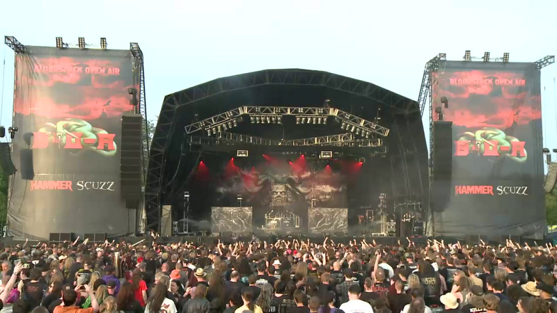 bloodstock stage