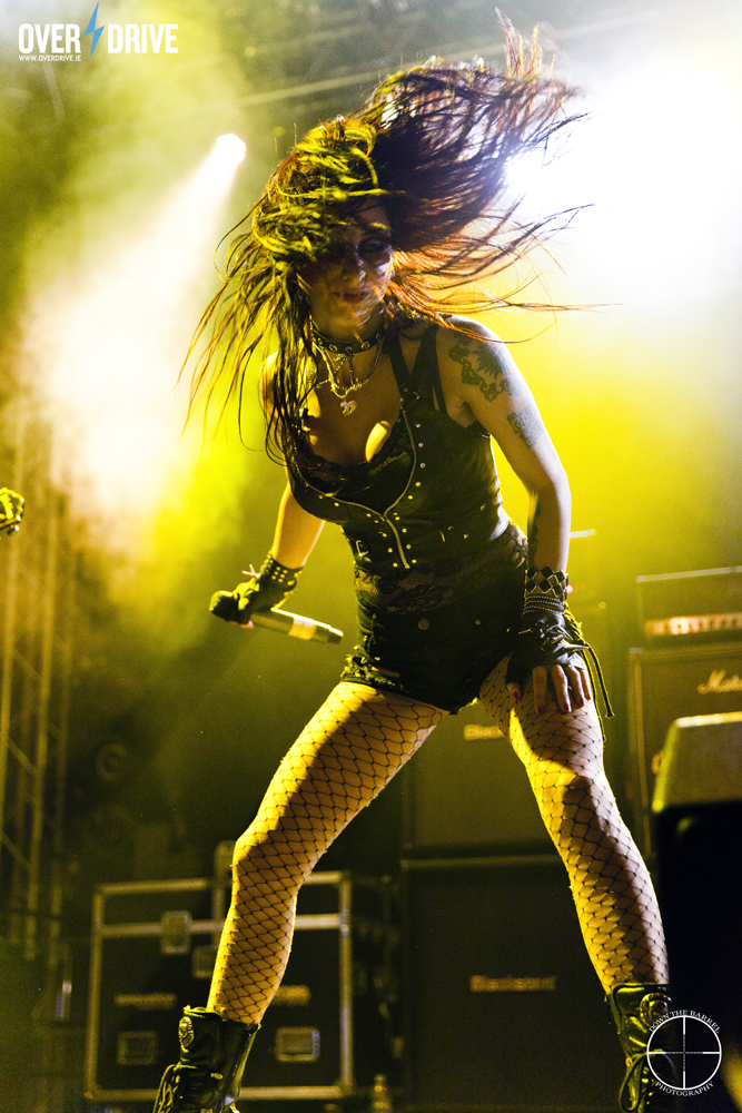 Liv of Sister Sin - Bringing the Rock to Bloodstock!