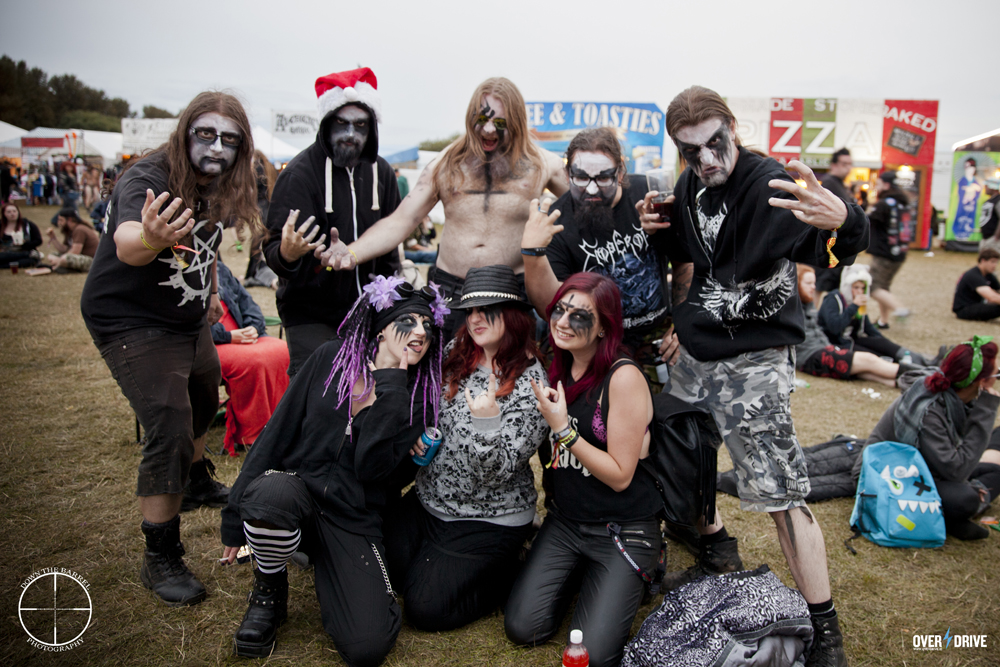Some members of the Bloodstock Family 2014