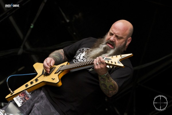 Kirk Windstein of Crowbar - Mainstage Bloodstock 2014 © Down the Barrel Photography 2017