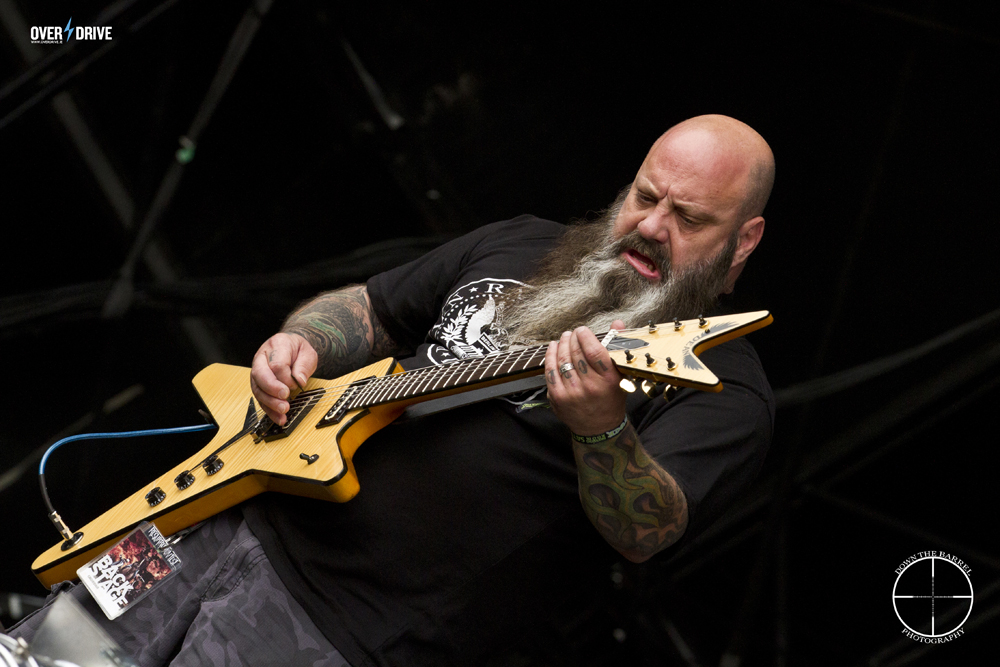 Kirk Windstein of Crowbar - Mainstage Bloodstock 2014