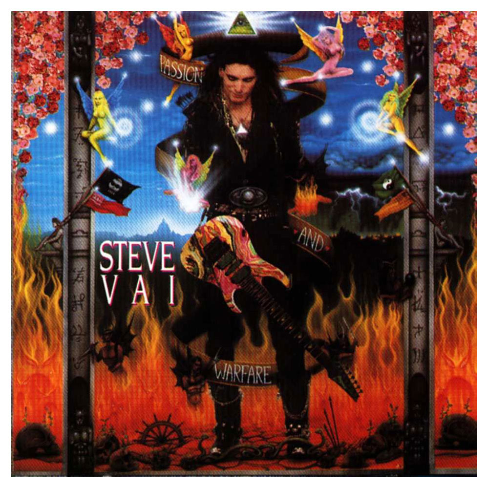 Steve Vai Album cover