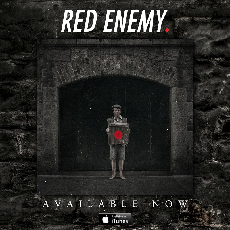 Red Ememy debut Album artwork