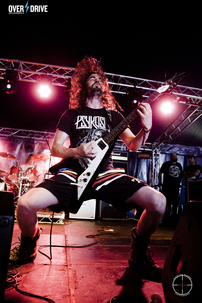 Psykosis performs for 2000 people - The New Blood stage, Bloodstock 2014.