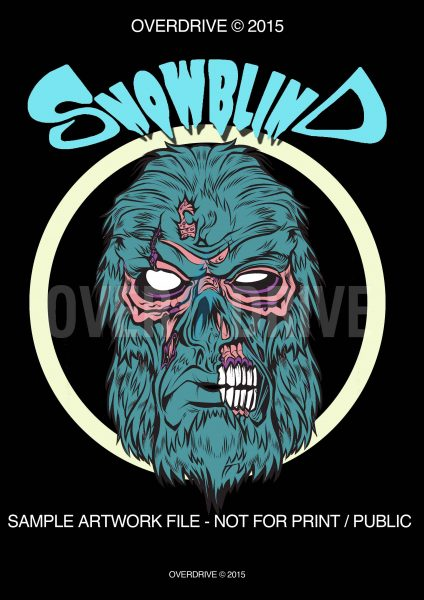 SNOWBLIND T-SHIRT DESIGN V_1(low res) © Overdrive Mock Sample copy