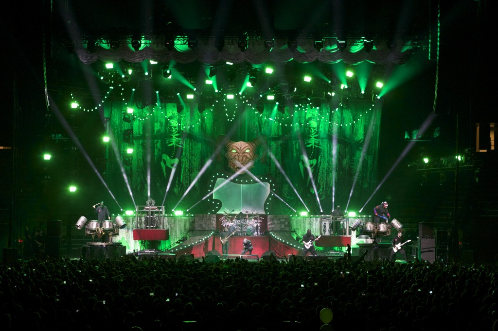 Slipknot - 3 Arena, Dublin January 14th 2015