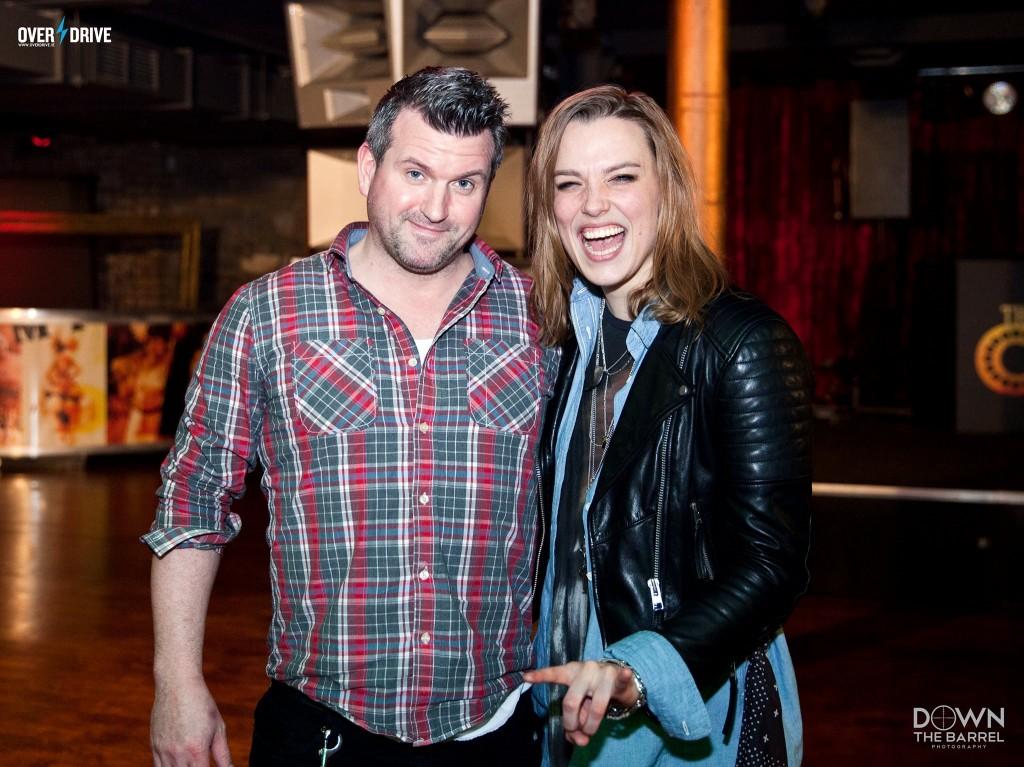 Lzzy hale & Oran O'Beirne Dublin