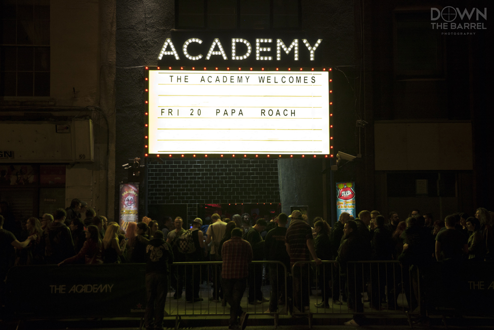Papa Roach sign