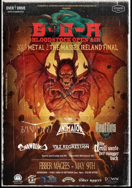 Metal 2 The Masses Final Poster
