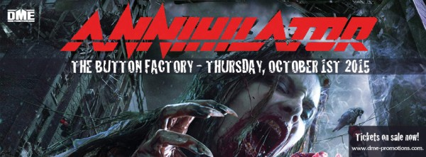 Annihilator Facebook graphic