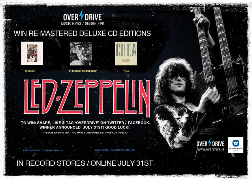 Win Led Zeppelin Remasted Albums