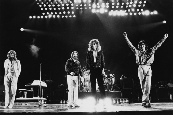 Led Zeppelin 1979 photo credit Neal Preston-Atlantic Records
