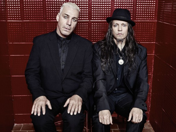 Lindemann photo Red Wall