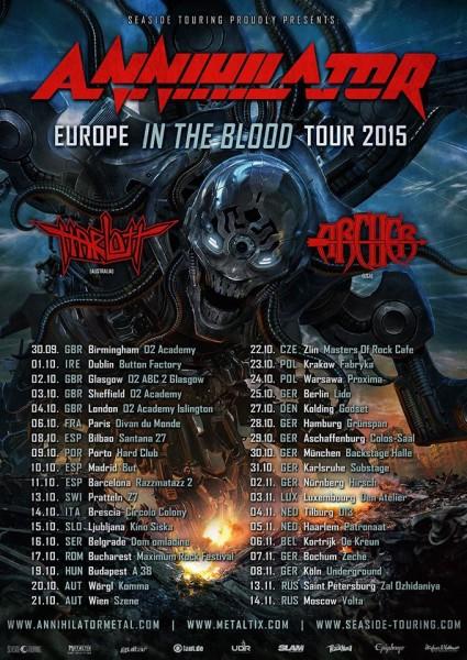 annihilator2015europeantourposter
