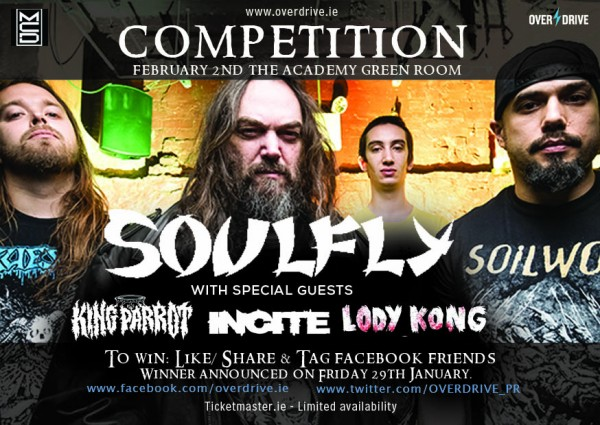 SOULFLY 2016 Comp