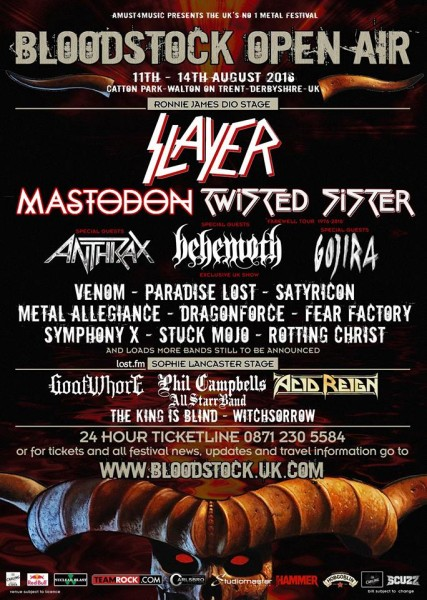 BLOODSTOCK UPDATE FEB 2016