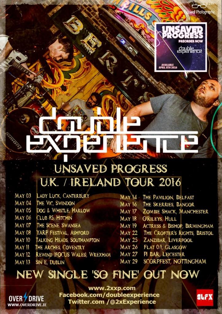 DOUBLE EXPERIENCE UK - IRELAND TOUR