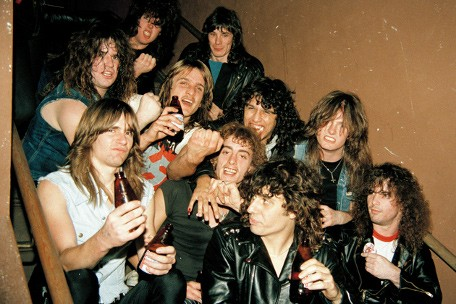 early thrashers exodus, slayer