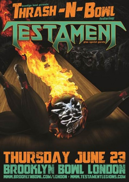 TESTAMENT THRASH N' BOWL
