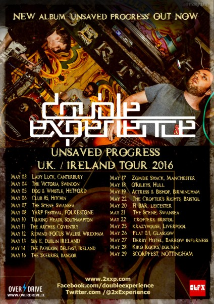 DOUBLE EXPERIENCE UK (MAY) - IRELAND TOUR