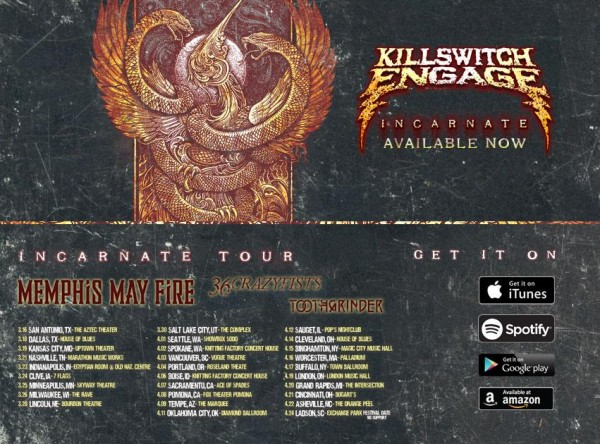 killswitch engage sale promo