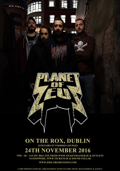 Planet of Zeus Dublin poster