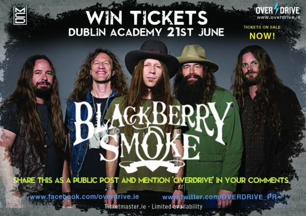 BLACKBERRY SMOKE COMP