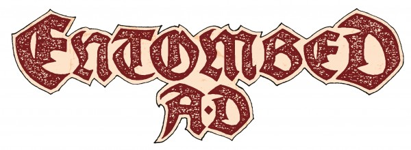 Band Logo - Entombed A.D.-3