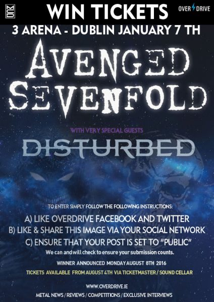AVENGED SEVENFOLD - DISTURBED COMP