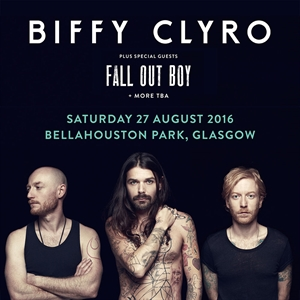 BIFFY CLYRO GLASGOW GIG