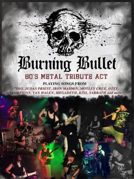 Burning Bullet poster