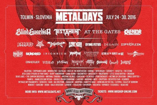 Metaldays 2016