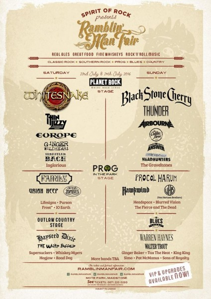 RAMBLIN MAN FAIR 2016