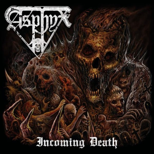 Asphyx incoming death album art