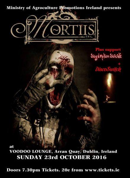Mortiis dublin poster