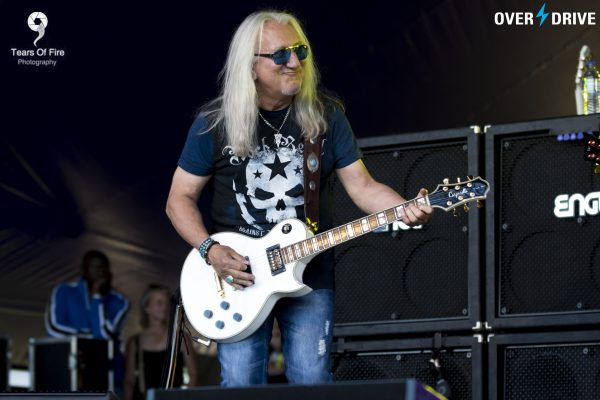 Uriah Heep's Mick Box - Ramblin' Man Fair © Overdrive 2016