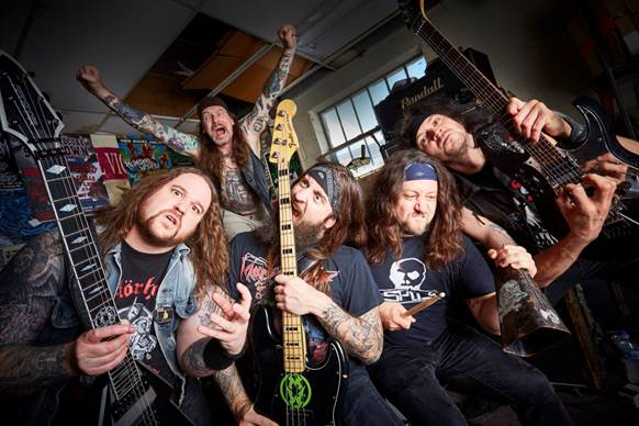 Municipal Waste have been confirmed for London's Persistence Tour on January 29th!