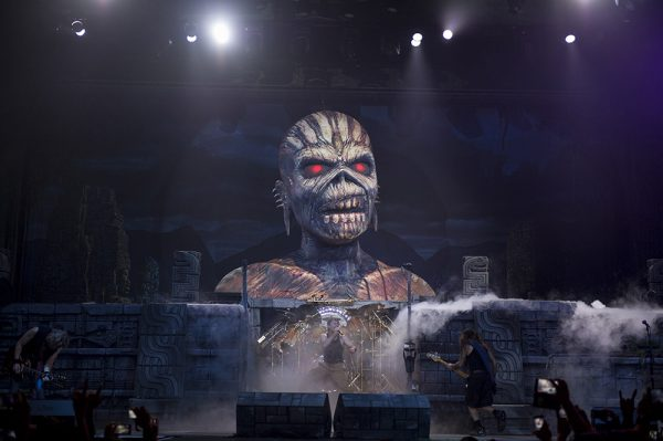 IRON MAIDEN MEXICO CITY SHOW 1 -3/3/16