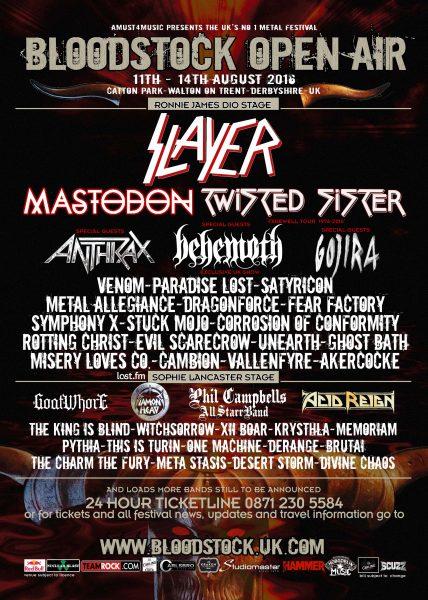 Bloodstock 2016 final poster