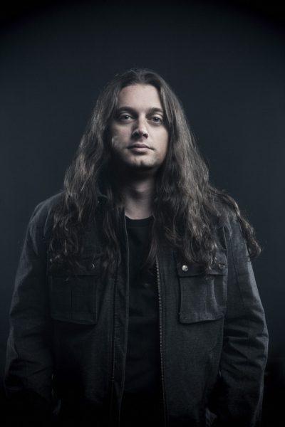 Jonathan Donais, lead guitar, Anthrax - 2015