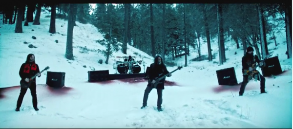 Slayer in snow