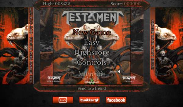 Testament Game