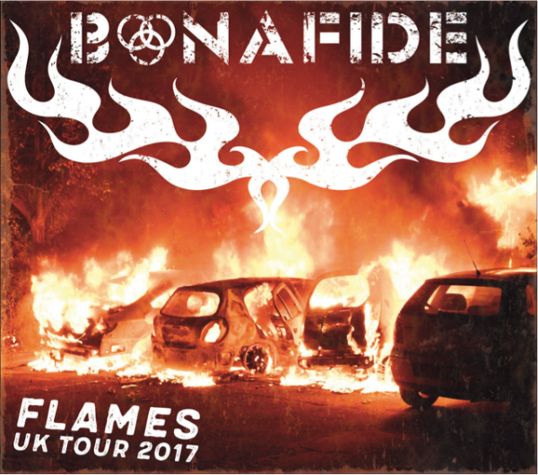 Bonafide UK tour poster