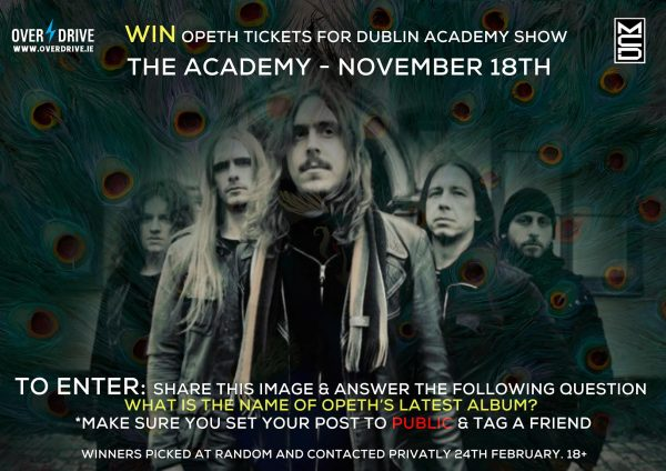OPETH DUBLIN COMP