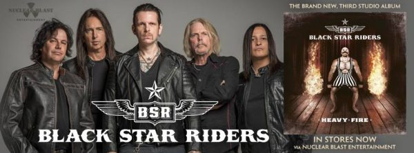 Black Star Riders banner