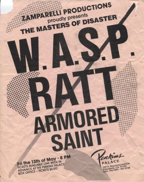 ARMORED SAINT:WASP:RATT