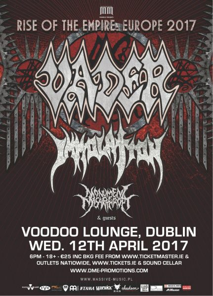 Vader Dublin 2017