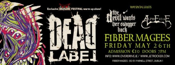 Dead label Fibbers Digi banner